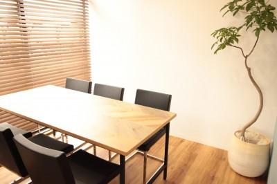 オリジナルテーブル (名古屋市西区オフィス)