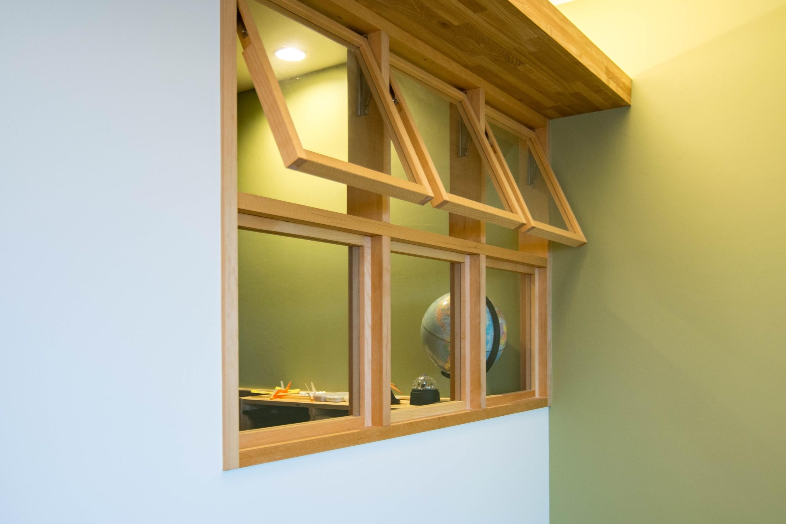 子供部屋事例:あかりとりの窓(DK STYLE すくすくリノベーションvol.7)