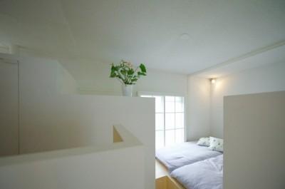 寝室 (新金岡団地の改修)