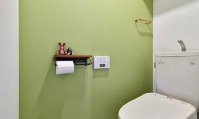 トイレ|回遊できるおうちで気ままなニャンライフ