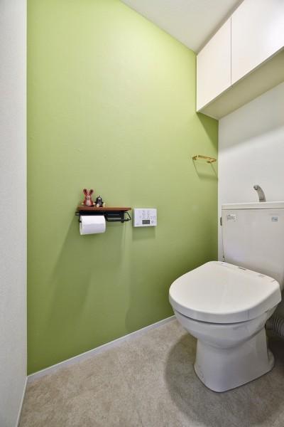 トイレ (回遊できるおうちで気ままなニャンライフ)