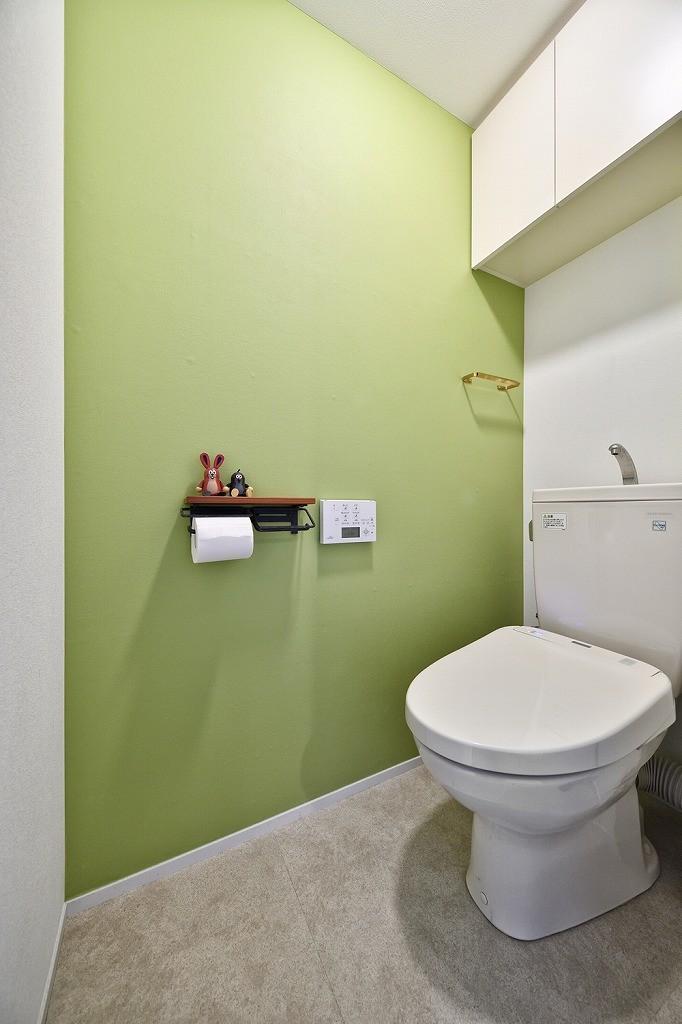 バス/トイレ事例:トイレ(回遊できるおうちで気ままなニャンライフ)
