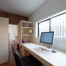 生瀬の家改修の写真 書斎