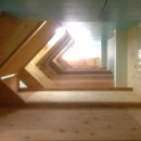 Music Uni Street Backpackers Hostelの写真 2階のベッドにのぼると端から端まで歩いていける