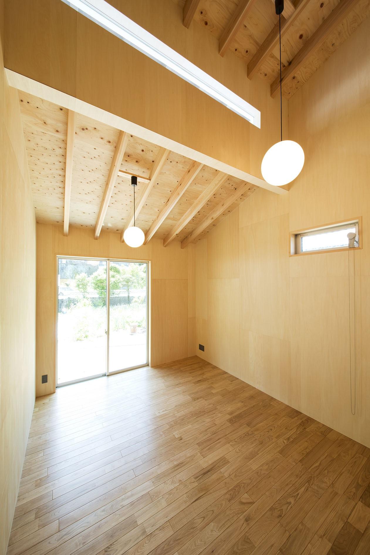 ベッドルーム事例:寝室(HouseK)