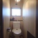落ち着きのあるレトロモダンの写真 トイレ