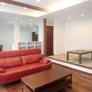 高級感漂う大空間でゆったり過ごす家の写真 リビング~畳コーナー②