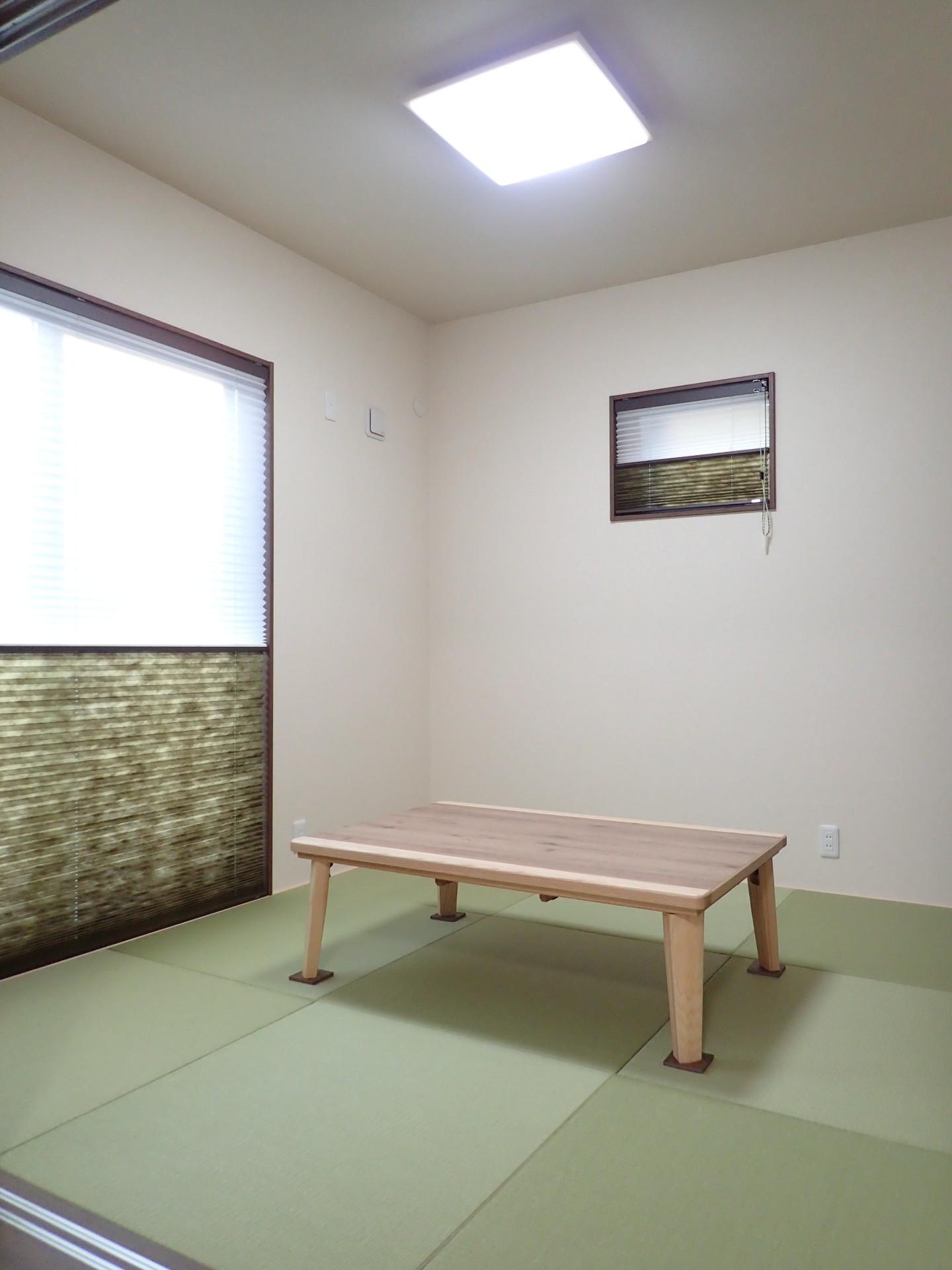 その他事例:和室(ダブル断熱で一年中快適♪ナチュラルモダンなお家)