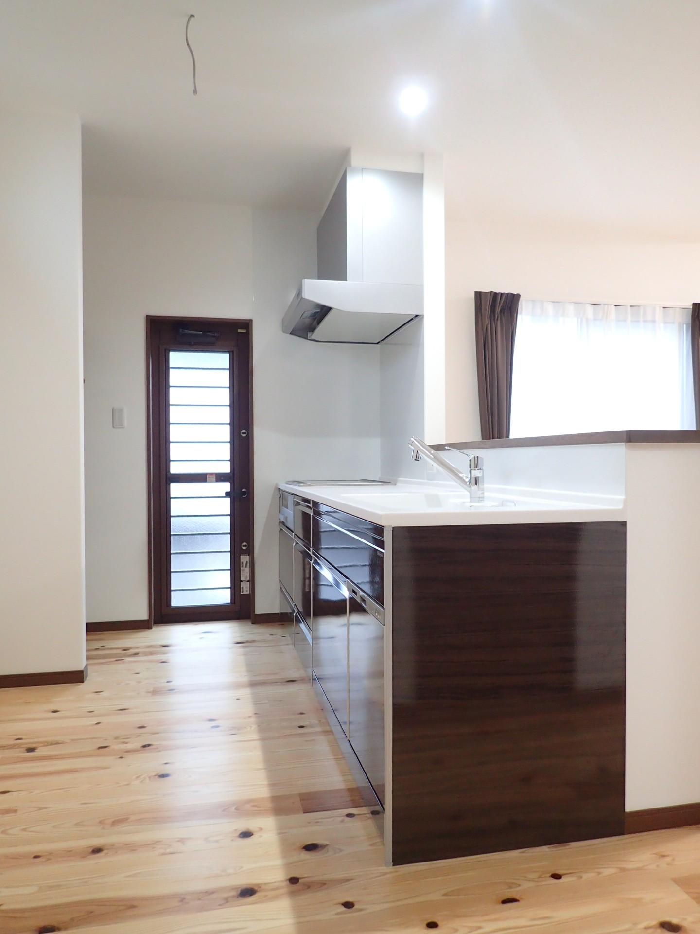 キッチン事例:キッチン(ダブル断熱で一年中快適♪ナチュラルモダンなお家)