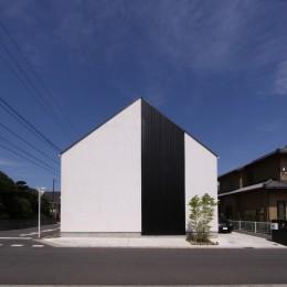 中庭のある家 OUCHI-04 (外観)