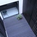 中庭のある家 OUCHI-04の写真 中庭見下ろし
