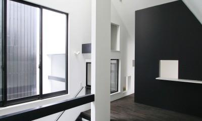 中庭のある家 OUCHI-04 (2階リビング)