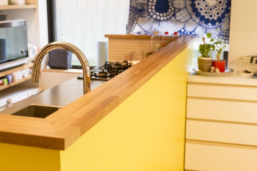 K邸-気分的には、ほとんど戸建て (キッチン)