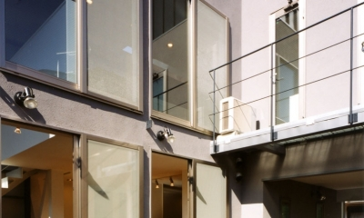 (西東京市)ひばりが丘の木造3階建ての家
