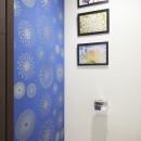 A邸-こだわりの収納と、家族それぞれの空間つくりの写真 トイレ