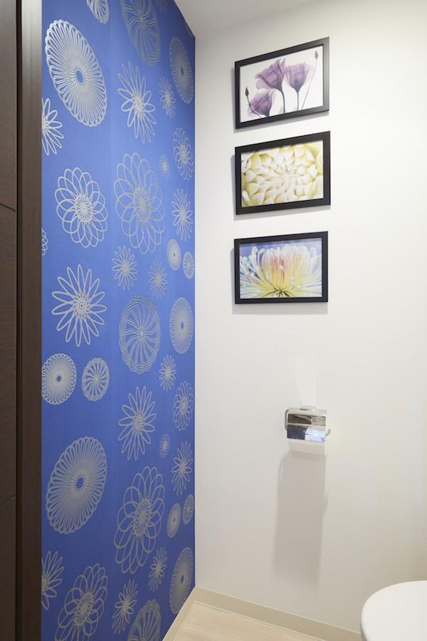 バス/トイレ事例:トイレ(A邸-こだわりの収納と、家族それぞれの空間つくり)