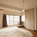 手づくりの家具で、自分流の写真 ベッドルーム