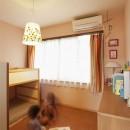 手づくりの家具で、自分流の写真 子供部屋