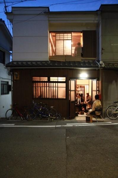 松屋町の長屋改修 (外観)
