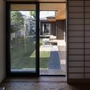 縁の繋がる家の写真 コントラストとプロポーション