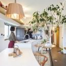 Shan shui house-猫と植物と山水画のような空間に暮らすの写真 キッチン