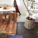 Shan shui house-猫と植物と山水画のような空間に暮らすの写真 リビング