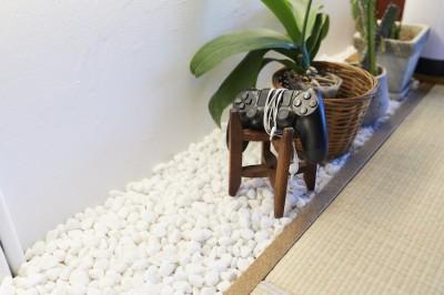 壁面収納 (Shan shui house-猫と植物と山水画のような空間に暮らす)