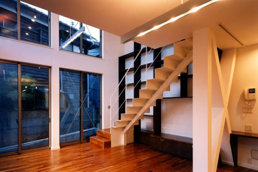 建築家:米村和夫「(西東京市)ひばりが丘の木造3階建ての家」