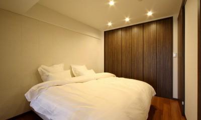 築35年のマンションをセカンドハウスに全面リフォーム (ベッドルーム)