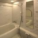 築35年のマンションをセカンドハウスに全面リフォームの写真 バスルーム