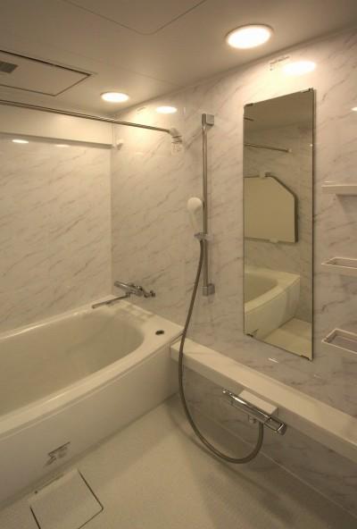 バスルーム (築35年のマンションをセカンドハウスに全面リフォーム)
