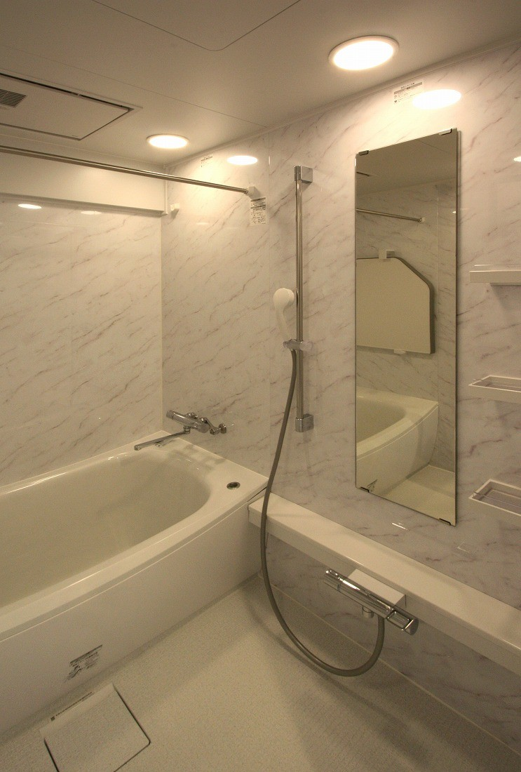 バス/トイレ事例:バスルーム(築35年のマンションをセカンドハウスに全面リフォーム)