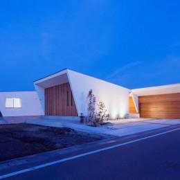 外観1 (G2-house 「向かい合う家」)