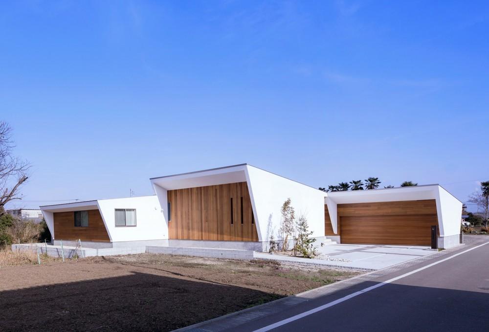 G2-house 「向かい合う家」 (外観2)