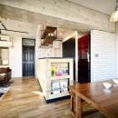 ひろがる眺望を存分に楽しむの写真 アイランドキッチン