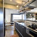 ひろがる眺望を存分に楽しむの写真 キッチン