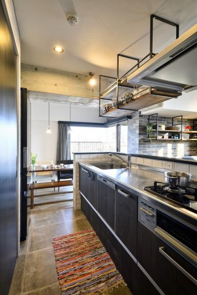 キッチン (ひろがる眺望を存分に楽しむ)