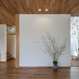 谷川建設の造る家 (玄関)