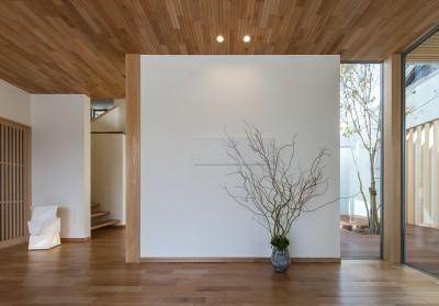 玄関 (谷川建設の造る家)