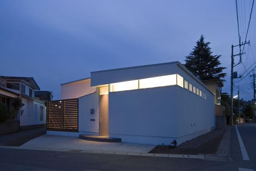 建築家:米村和夫「我孫子のコートハウス/平屋の家」