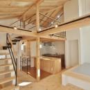 格子壁の住宅の写真 LDK