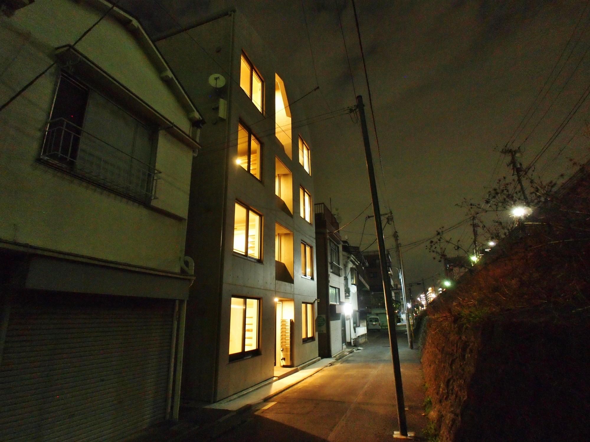 外観事例:外観(東京都北区の共同住宅)