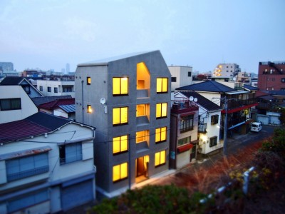 東京都北区の共同住宅 (外観)