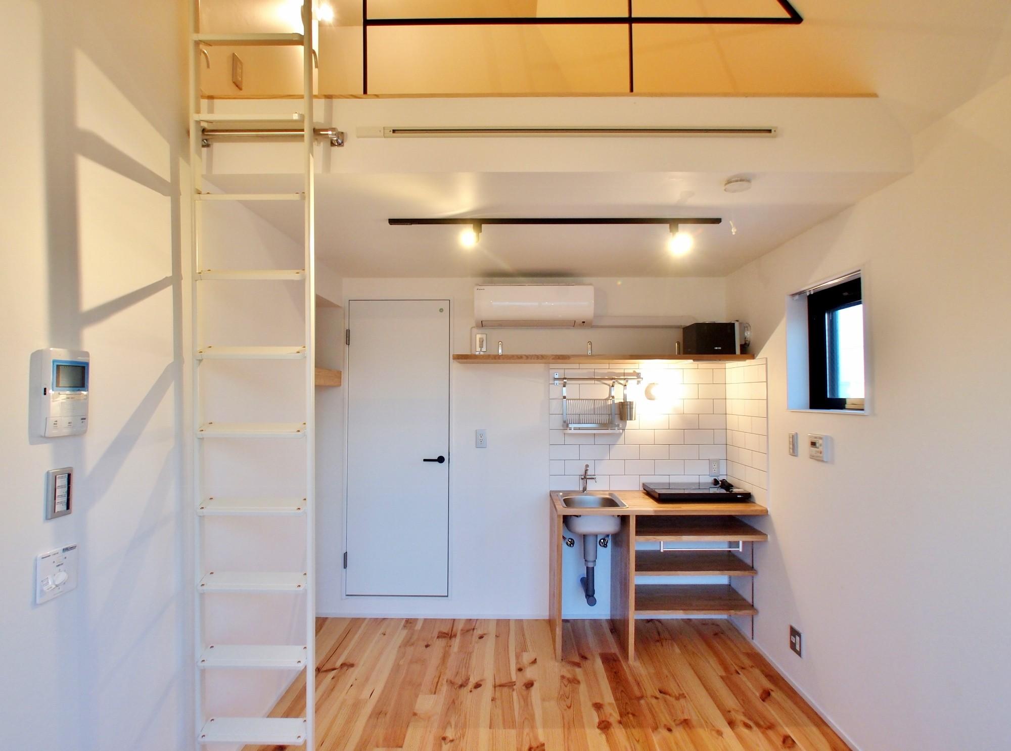 リビングダイニング事例:洋室(東京都北区の共同住宅)