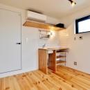 東京都北区の共同住宅の写真 キッチン