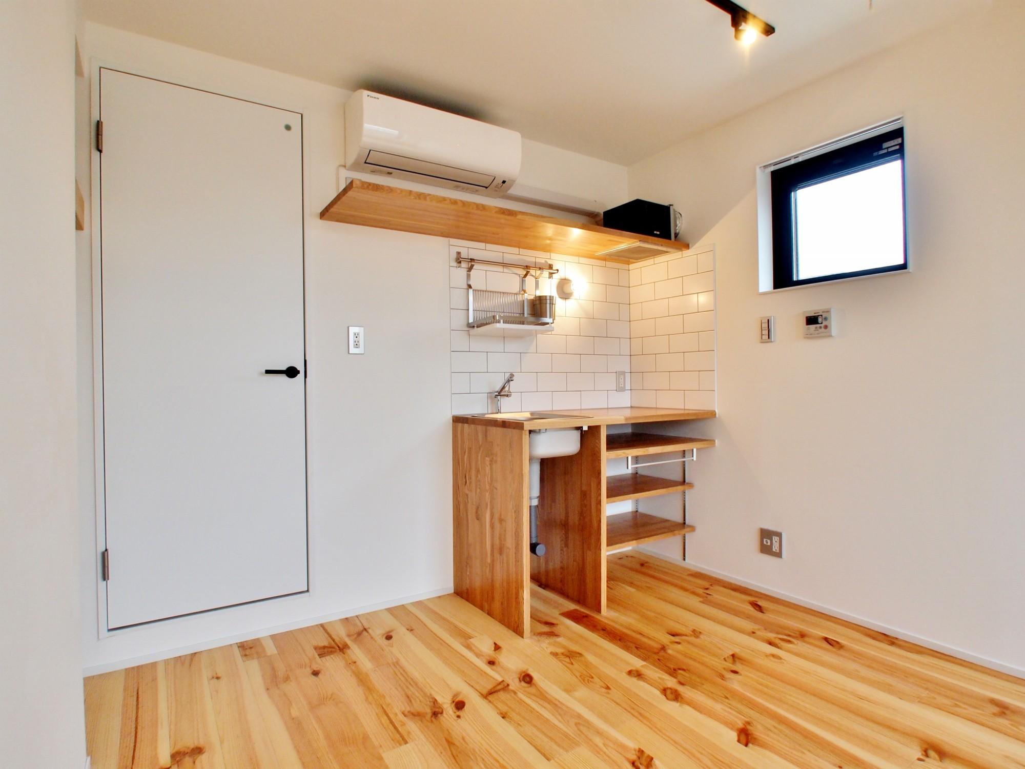 キッチン事例:キッチン(東京都北区の共同住宅)