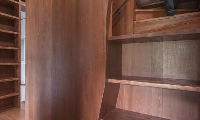 書写の散居 (階段室)