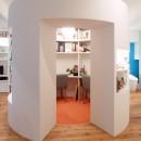 SHAPES-円形の書斎、台形の寝室、そして…の写真 書斎