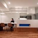 SHAPES-円形の書斎、台形の寝室、そして…の写真 ダイニングキッチン