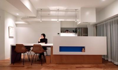 SHAPES-円形の書斎、台形の寝室、そして… (ダイニングキッチン)